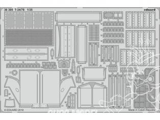Eduard photodecoupe militaire 36395 Amélioration T-34/76 Academy 1/35