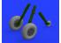 EDUARD Brassin super detaillage 632128 Roues Spitfire Mk.IX avec jantes 5 branches et pneus structurés Tamiya 1/32