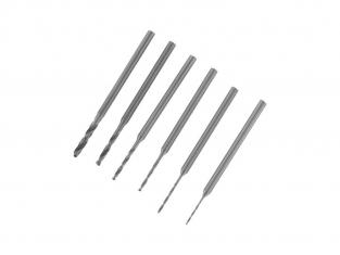 Rota Craft outillage RDR2346A 6 Forets assortis à queue de 2,35 mm