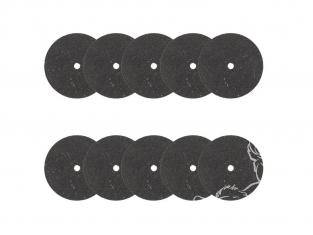 Rota Craft outillage RAB5209/10 Disques à tronçoner en carborundum soit Carbure de silicium (20 mm) x 10
