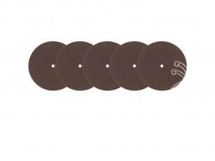 Rota Craft outillage RAB5167/5 Disques à tronçonner au carborundum soit Carbure de silicium (38 mm) x 5