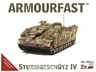 Armourfast maquette militaire 99033 Sturmgeschutze IV 1/72
