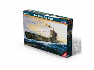 Master CRAFT maquette sous-marin 042905 Das U-Boat VIIC U-617 1/400