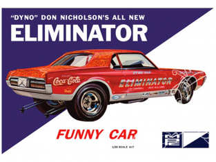 MPC maquette voiture 889 Dyno Don Cougar Eliminator Funny Car 1/25