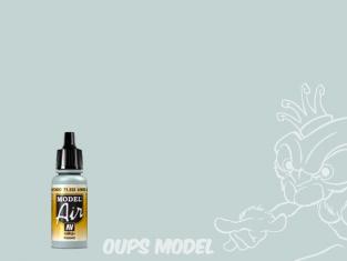 "Vallejo Peinture Acrylique Model Air 71332 Bleu ""Fade"" Dessous FS35450 17ml"