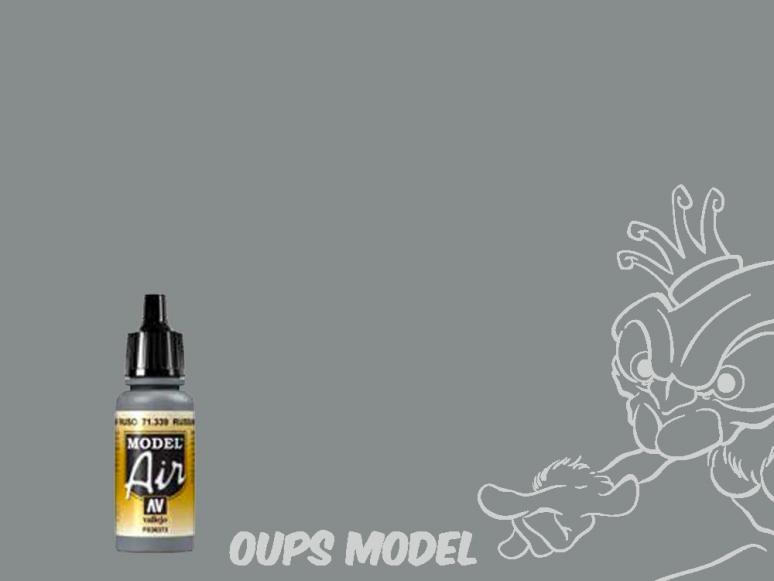 Vallejo Peinture Acrylique Model Air 71339 Gris N.3 Russe AF FS36373 17ml