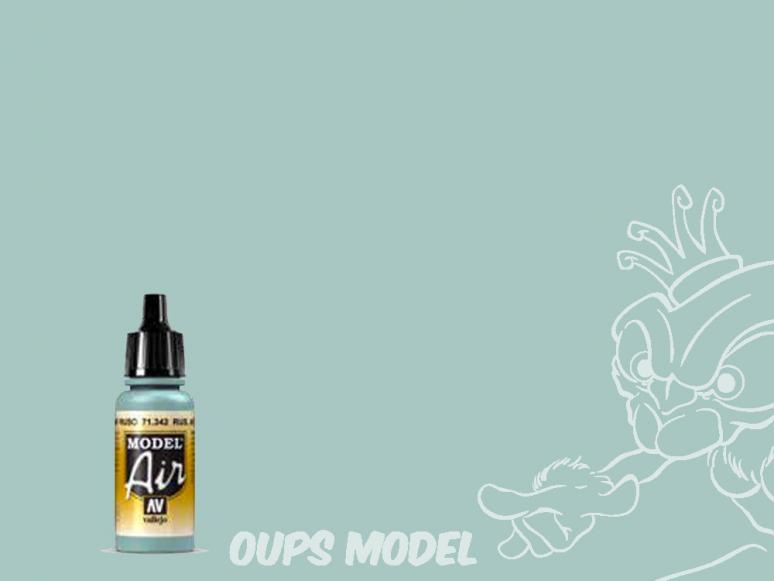 Vallejo Peinture Acrylique Model Air 71342 Bleu clair Russe AF 17ml