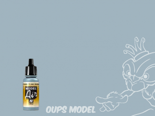 Vallejo Peinture Acrylique Model Air 71345 Gris N.8 Russe AF 17ml