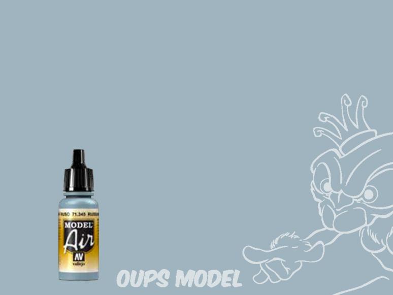 Vallejo Peinture Acrylique Model Air 71345 Gris N.8 Russe AF 17ml.
