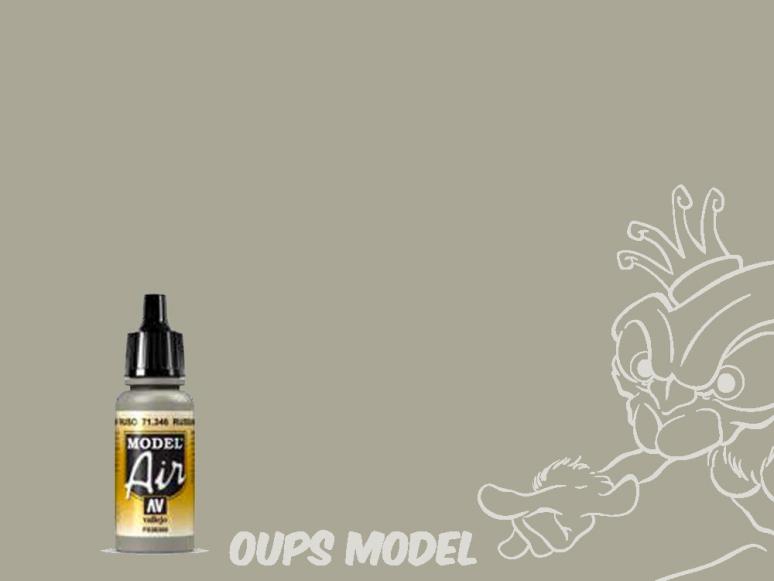 Vallejo Peinture Acrylique Model Air 71346 Gris N.4 Russe AF 17ml