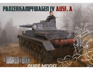 IBG maquette militaire w-004 Panzerkampfwagen II Ausf.A 1/72