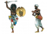 Italeri maquette 6055 GUERRIERS ARABES Guerres coloniales 1/72