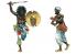 Italeri maquette 6183 Beau geste Revolte des Touareg Algeriens 1877-1912 Battle set 1/72