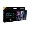 Vallejo Set Fantasy Pro 74104 Set pourpre impérial 8 x 17ml
