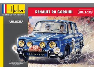 Heller maquette voiture 80700 RENAULT R8 GORDINI 1/24