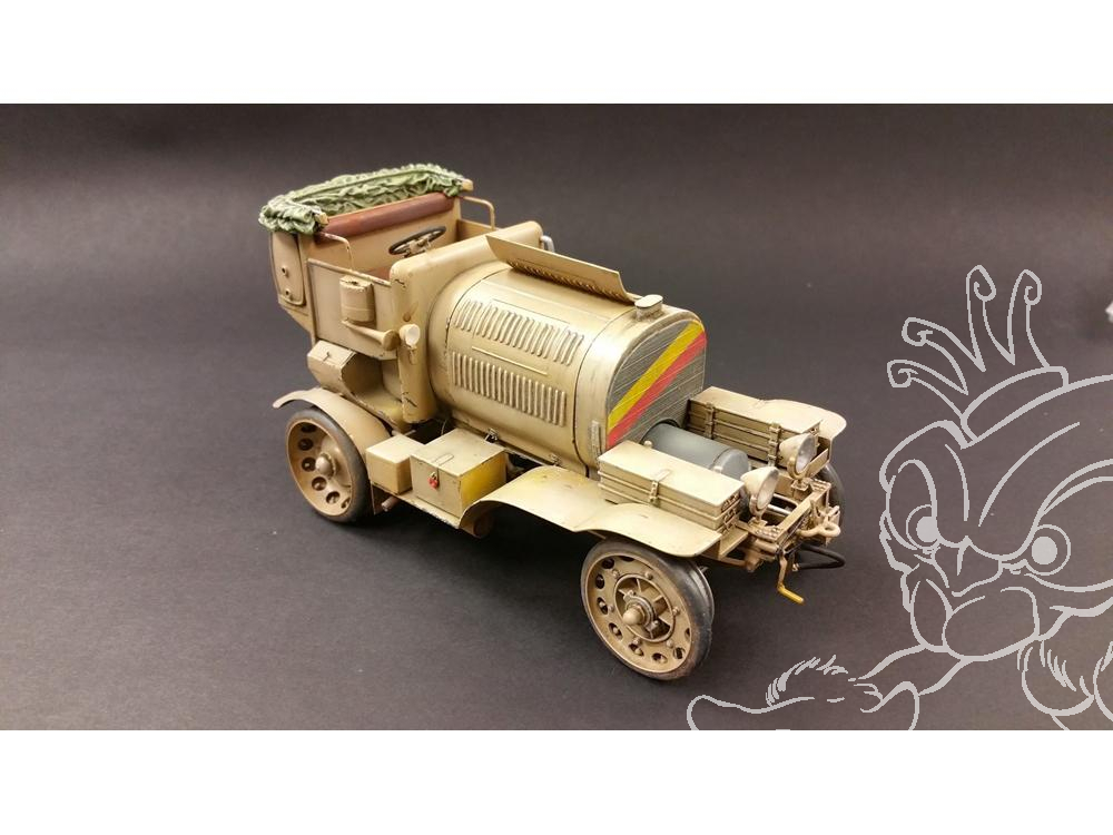 plus model kit militaire 454 artilleriegeneratorwagen m