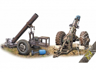 Ace Maquettes Militaire 72444 Hell Cannon 1/72