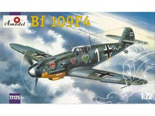 Amodel maquettes avion 72125 MESSERSCHMITT BF-109 F4 1942 1/72