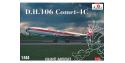 Amodel maquette avion 1477 DE HAVILLAND 106 COMET-4C 1960 1/144