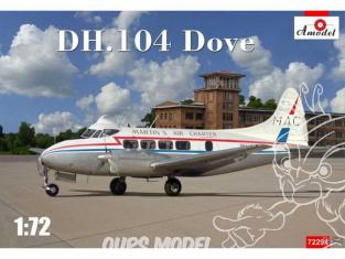 """Amodel maquettes avion 72294 DE HAVILLAND D.H.104 """"DOVE"""" 1975 1/72"""