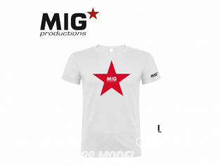 MIG Productions by AK P274 T-Shirt MIG Productions blanc Homme taille L