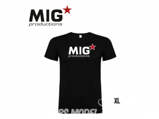 MIG Productions by AK P271 T-Shirt MIG Productions noir Homme taille XL