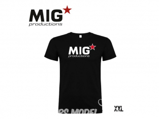 MIG Productions by AK P272 T-Shirt MIG Productions noir Homme taille XXL