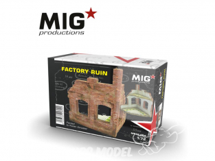 MIG Productions by AK MP72-094 Usine en ruine 1/72