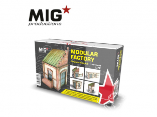 MIG Productions by AK MP72-400 Usine modulable 1/72