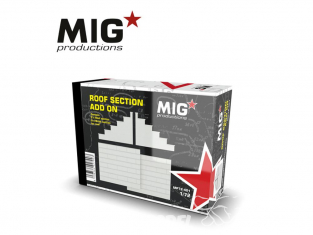 MIG Productions by AK MP72-401 Section de toit Add On 1/72