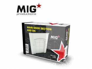 MIG Productions by AK MP72-403 Section de porte principale Add On 1/72
