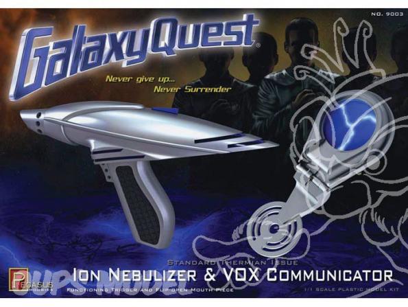 PEGASUS maquette espace 9003 ION Nebulizer et Vox Communicator 1/8