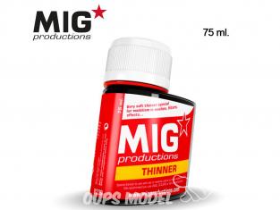MIG Productions by Ak P239 Diluant pour Enamel et huiles 75ml