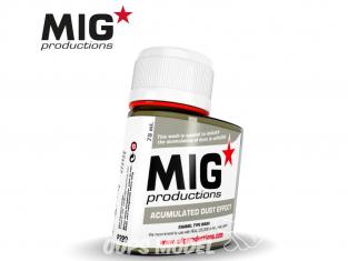 MIG Productions by Ak P299 Effet accumulation poussière Enamel 75ml
