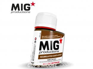 MIG Productions by Ak P300 Effet accumulation terre Enamel 75ml