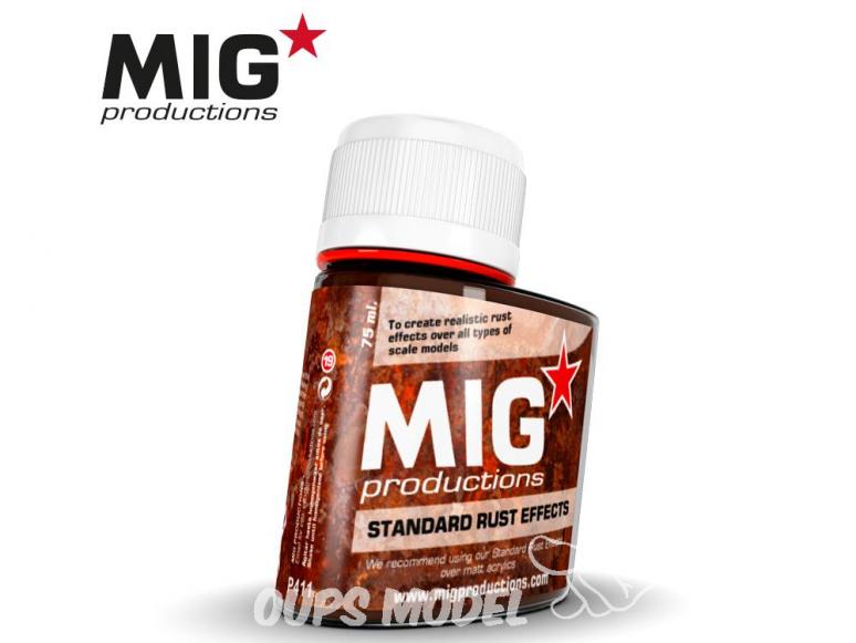 MIG Productions by Ak P411 Effet rouille standard Enamel 75ml