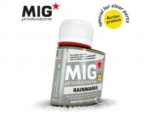 MIG Productions by Ak P417 Effet traces de pluie Acrylique 75ml