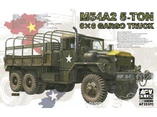 Afv club vehicule militaire 35300 M54 5-TON 6×6 CARGO TRUCK 1/35