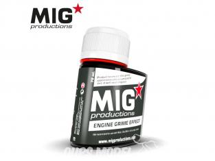 MIG Productions by Ak P701 Effet saleté moteur Enamel 75ml