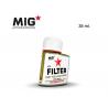 MIG Productions by Ak F246 Filtre gris pour vert clair Enamel 35ml