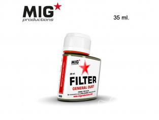 MIG Productions by Ak F429 Filtre Poussière générale Enamel 35ml