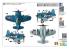 Tiger Model maquette avion Cute TM-101 F4U Corsair Fighter WWII U.S. Navy