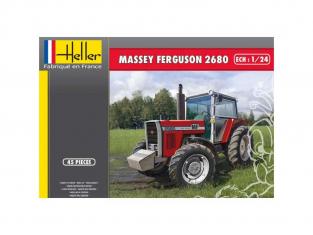 Heller maquette tracteur 81402 MASSEY FERGUSON 2680 1/24