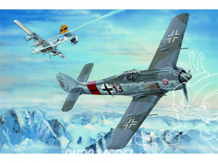 Hobby Boss maquette avion 81803 Chasseur allemand FW190A-8 1/18