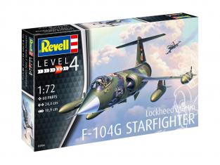 Revell maquette avion 03904 Lockheed Martin F-104G Starfighter 1/72