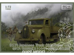 IBG maquette militaire 72060 917t (Yokohama Cab) camion Japonais 1/72