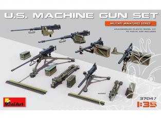 Mini Art maquette militaire 37047 Set de Mitraileuses U.S 1/35