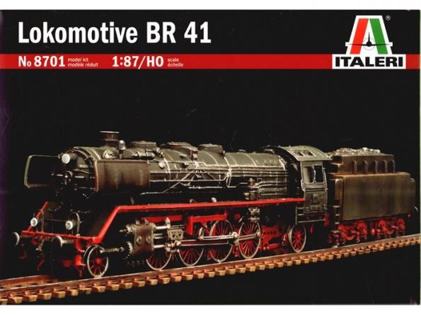 ITALERI maquette loco 8701 LOCOMOTIVE BR41 1.87