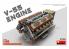 Mini Art maquette accessoires militaire 37025 Moteur V-55 pour T55 1/35