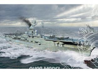 TRUMPETER maquette bateau 06710 PORTE-AVIONS de la DEUTSCH KRIEGSMARINE PETER STRASSER 1945 1/700